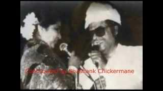 Asha Bhosle  Kishore Kumar Live Jaane Jaan Dhoondta