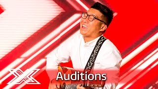 Will Richard Chen convince the Judges to put him through? | Auditions Week 1 | The X Factor UK 2016