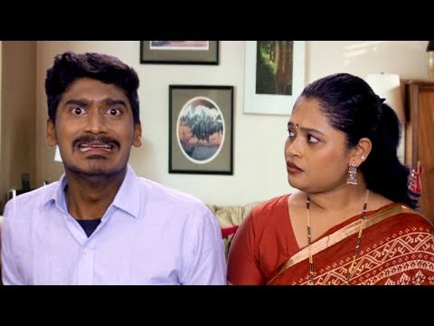Husband Wife Comedy - Marathi Joke | Tumhi Majhe Ramesh...