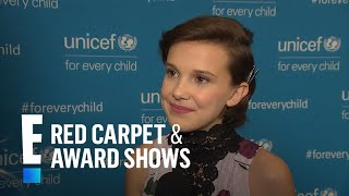 Millie Bobby Brown Reacts to Golden Globes 2017 Nomination | E! Live from the Red Carpet