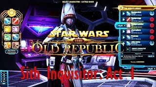 Sith Inquisitor: Act 1 - Legacies Of Old (The NgaiGeneration Plays SWTOR)