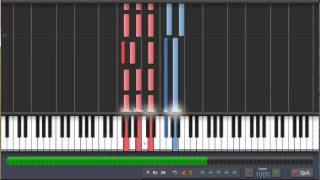 Stop crying your heart out - Oasis - Synthesia Piano Tutorial + MIDI