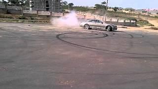 Mercedes Benz CL65 V12 Biturbo Burnout