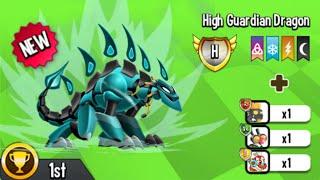 Dragon City - Heroic Race: High Guardian Dragon [1st Congratulation]
