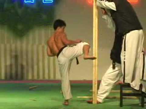 태권도 북한 시범 North Korean Taekwondo Demonstration part 2