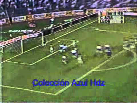 Cruz Azul León Final INVIERNO 97 Ida