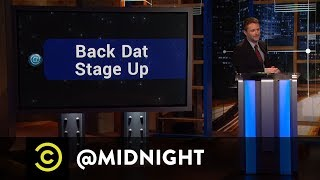 Backstage at @midnight - @midnight with Chris Hardwick