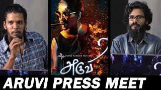 Aruvi Movie Cinematographer And Editor Speech At Aruvi Movie Press Meet