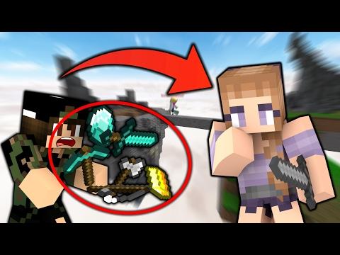 JEG ER EN PIGE CHALLENGE!! - Dansk Minecraft