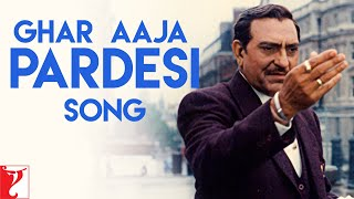 Ghar Aaja Pardesi Song | Dilwale Dulhania Le Jayenge | Amrish Puri