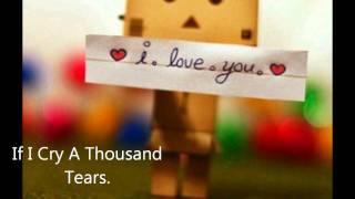 If I Cry A Thousand Tears ♥