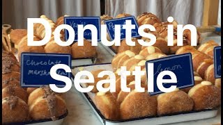 Food Vlog 2: Donuts in Seattle