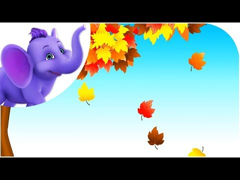 Falling Leaves - Nursery Rhyme with Lyrics & Sing Along