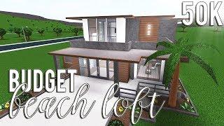 ROBLOX | Bloxburg: Budget Beach Loft 50k