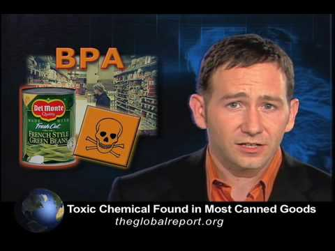Toxic Chemical Found in Most Canned Goods