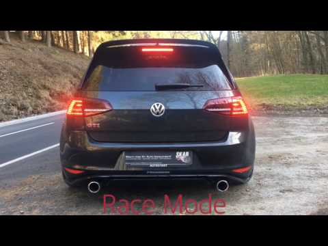 Golf 7 GTI Clubsport with SKAD Exhaust SX / Race +