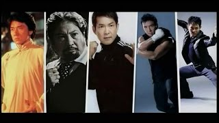 Jackie Chan, Biao Yuen, Sammo Hung, Donnie Yen and Jet Li,Fighting scenes