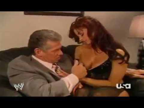 Download Vince Mcmahon and Candice Michelle Making Out Backstage free