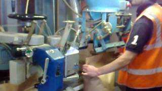 BL160 Electronic Gravity Feed Bagging Machine for Linseed.mp4