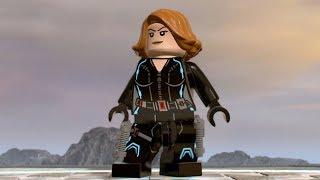 LEGO Marvel Super Heroes 2 - Black Widow - Open World Free Roam Gameplay (PC HD) [1080p60FPS]