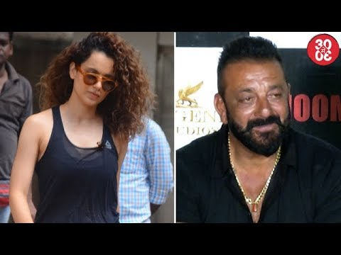 Kangana Spotted Leaving Sword Fighting Rehearsal | Sanjay Miffed With 'Bhoomi' Director Omung