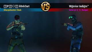 Unkilled PvP - ☬ℙℛ◎෴ li0nh3art vs W@rrior Indi@n a.k.a Aadil Patni - Very very close match! Pure fun