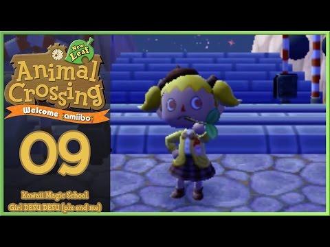 Animal Crossing New Leaf - Welcome Amiibo Day 9: Kawaii School Girl fights Ganon