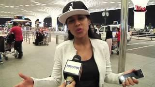 Nia Sharma aka Roshni of Jamai Raja Leaves for Jordon