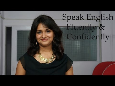 how to learn spoken english fluently