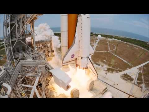 HD IMAX Shuttle launch Hubble 2010 STS 125 Excellent Quality