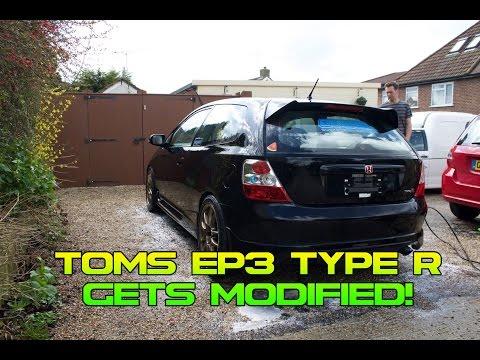 TOM'S HONDA CIVIC TYPE R GETS MODIFIED !! 6TWO1 / Honda Diaries