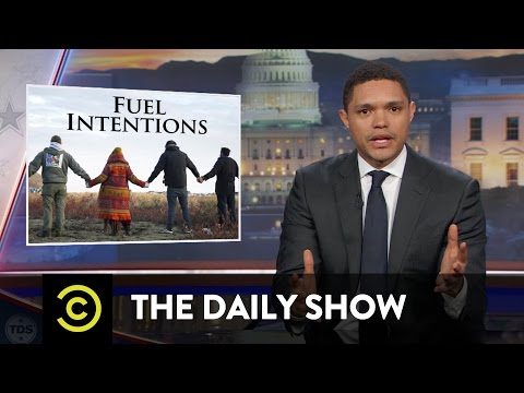 The Daily Show The Dakota Access Pipeline s Reservation Reroute