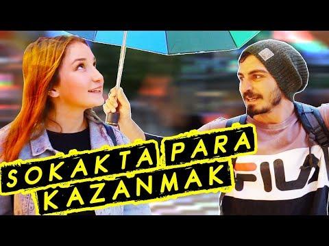 YAĞMURDA ŞEMSİYE SATARAK PARA KAZANMAK!!