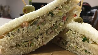آموزش خوشمزه ترين ساندويچ مرغ دنيا تنها رقيب سالاد ألويه(جوادجوادي)