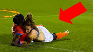 20 FUNNIEST MOMENTS IN WOMEN'S FOOTBALL