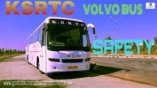 VOLVO BUS SAFETY VIDEO KSRTC AIRAVAT ,INDIA