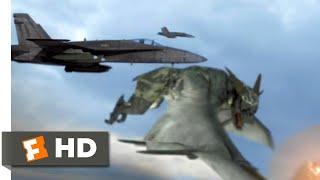 Alien Convergence (2017) - Alien Dogfight Scene (6/9) | Movieclips