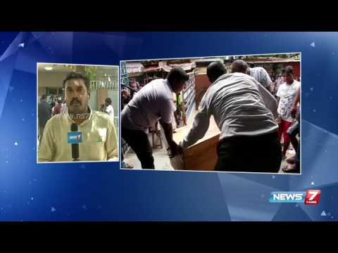 Idol smuggling: Search operations in Dheenadayalan's house | News7 Tamil