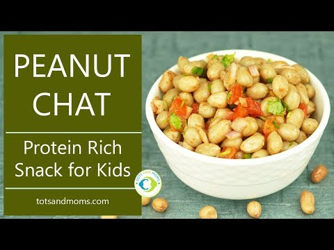 Xxx Mp4 Peanut Chaat For Toddlers Kids Protein Rich Heart Healthy Snack Made With Groundnut 3gp Sex