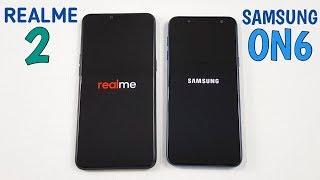 Realme 2 vs Samsung ON6 Speed Test & Ram Management !