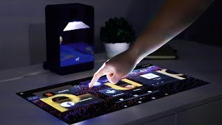 This Projector Turns Any Desk Into a Touchscreen