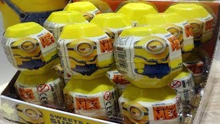 Minions Despicable Me 3 Kinder Surprise Eggs from Minions Movie