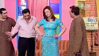 Nasir Chinyoti, Nargis and Zafri Khan New Pakistani Stage Drama Full Comedy Funny Clip