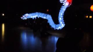 Tanec draka Dračí ples Otrokovice 2015