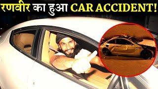 OMG: Ranveer Singh Met With A Car Accident