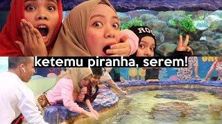 Seru-seruan Bareng Piranha & Hiu Di Trans Studio | SOHWAcam