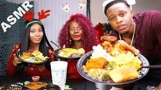 ASMR StoryTime Dinner Feast | Lip Smacking Good December 2017