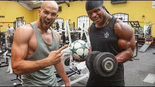GYM WORKOUT WITH A BEAST | Must Do Exercises!