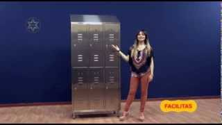 Production and sales, Stainless steel- Multi-door changing lockers, stainless steel furniture
