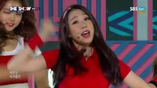 I.O.I - 너무너무너무 (Very Very Very) (SBS FUNE THE SHOW Special Comeback Stage)